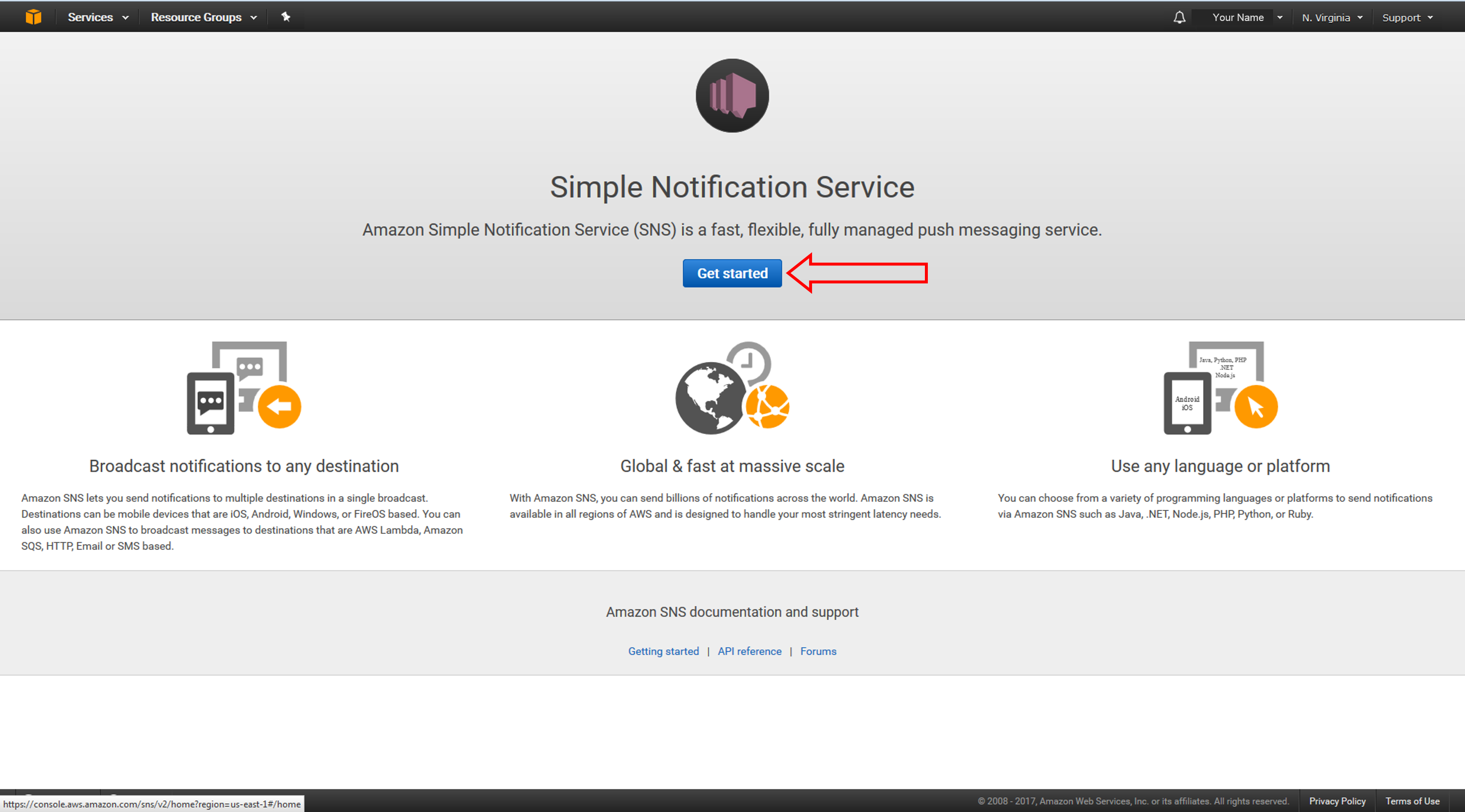 How to Send Fanout Event Notifications – Amazon Web Services