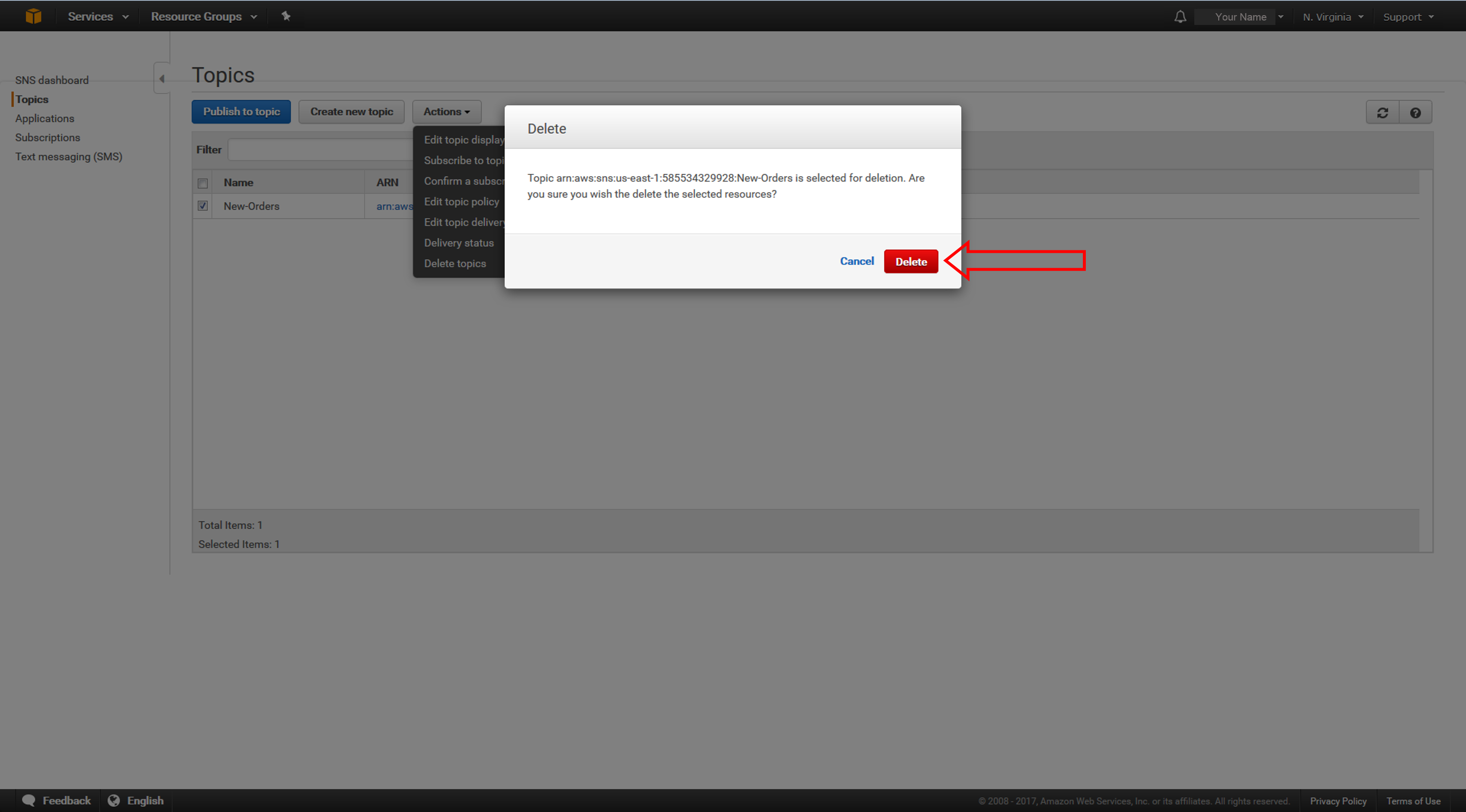 How to Send Fanout Event Notifications – Amazon Web Services (AWS)