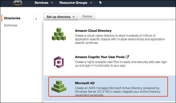 使用 ADMT 迁移本地 AD 用户到 AWS Microsoft AD