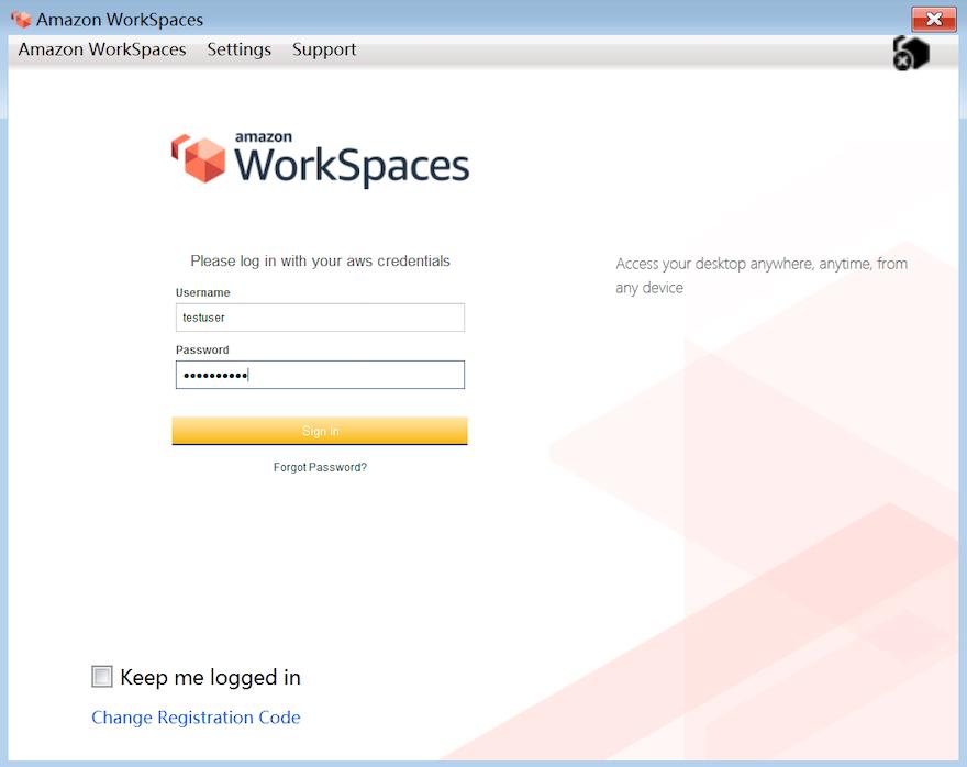 快速上手 Amazon WorkSpaces 云中的虚拟桌面