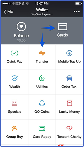 Setting Up WeChat Wallet – Baopals