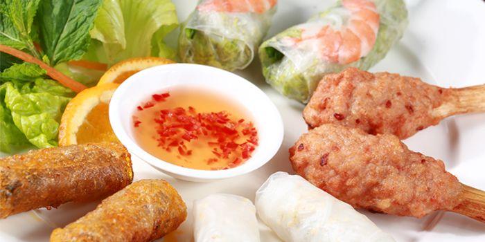 Vietnamese Spring Rolls from Lapis Thai (Hunan Lu) in Xuhui, Shanghai