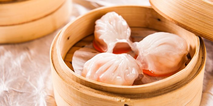 Dim Sum from JUN Chinese Restaurant in Crown Plaza in Xibahe