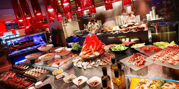 Food Spread from Red Orange at Crown Plaza in Xibahe