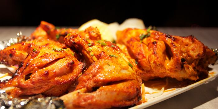 Grilled Chicken from Tandoor Indian Restaurant in ZhaoLong Hotel, Chaoyang