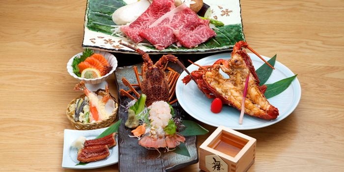 Lobster and Wagyu Beef from Mai at The Westin Beijing in Sanyuanqiao, Beijing