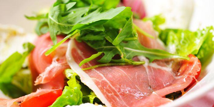 Salad from Bella Napoli (Nanhui Lu) in Jingan, Shanghai