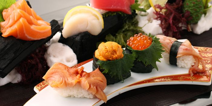 Sashimi from Mai at The Westin Beijing in Sanyuanqiao, Beijing