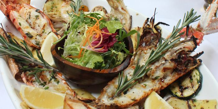 Seafood Platter from Palatino Roman Cuisine in Former French Concession in Shanghai