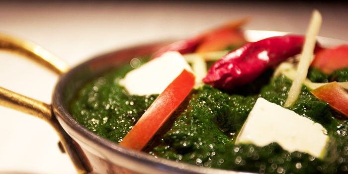 Vegetables from Tandoor Indian Restaurant in ZhaoLong Hotel, Chaoyang