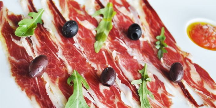 Cold Cuts from Albero Spanish Restaurant in Grand Kempinski Hotel Shanghai, Pudong, Shanghai