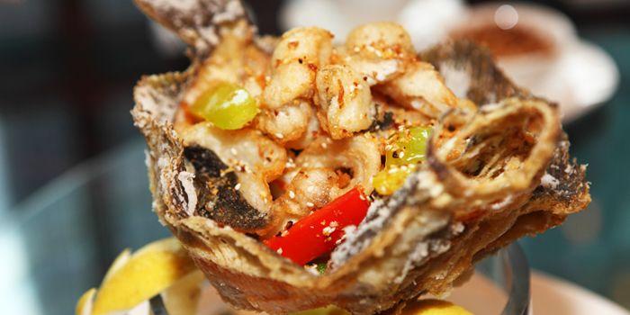 Fish from Suntime Century Chinese Restaurant in Grand Kempinski Hotel Shanghai, Pudong, Shanghai