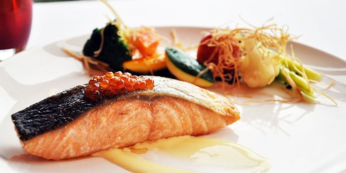 Salmon from Acqua in Grand Kempinski Hotel Shanghai, Pudong, Shanghai