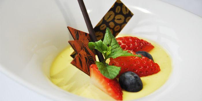 Strawberry Dessert from Albero Spanish Restaurant in Grand Kempinski Hotel Shanghai, Pudong, Shanghai