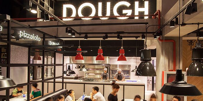 Interior of PizzaExpress (Sanlitun) in Sanlitun, Beijing