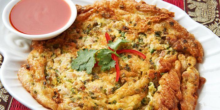 Omelette from Urban Thai (Changle Lu) in Jingan, Shanghai