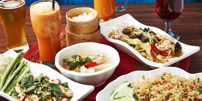 Food Spread from Urban Thai (Dagu Lu) in Jingan, Shanghai