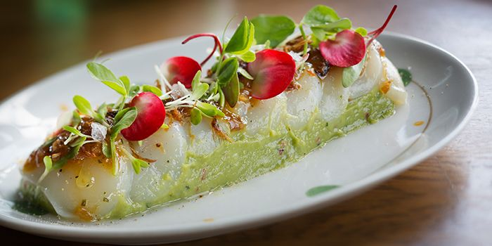 Scallop Ceviche from el Willy in The Bund, Shanghai
