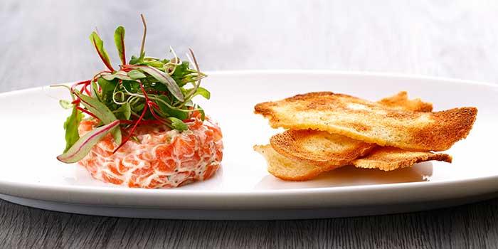 Norwegian Salmon Tartare from Jade on 36 Restaurant in Pudong, Shanghai