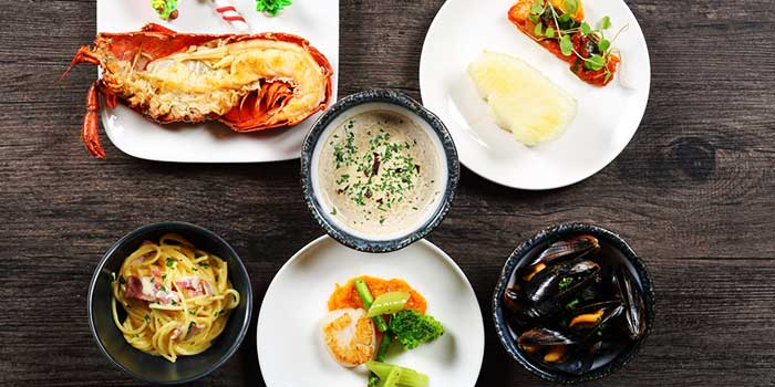 Seafood Platter from Jade on 36 Restaurant in Pudong, Shanghai