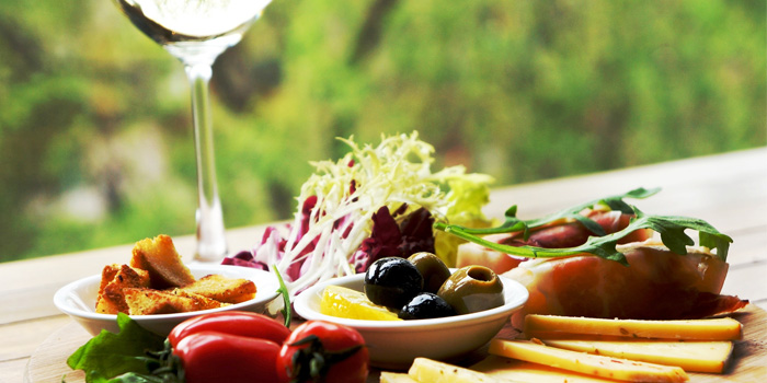 Cheese Platter from JustGrapes in Anfu Lu, Shanghai