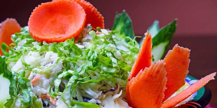 Phewa Lake Salad from Nepali Kitchen located in Jing