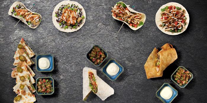 Wraps Tacos and Quesadillas from Mamacita located on Hongmei Lu, Shanghai
