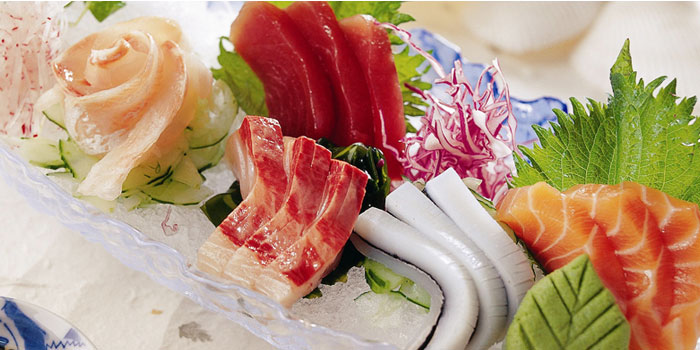 Sashimi Plate of Hatsune located in Disney Town