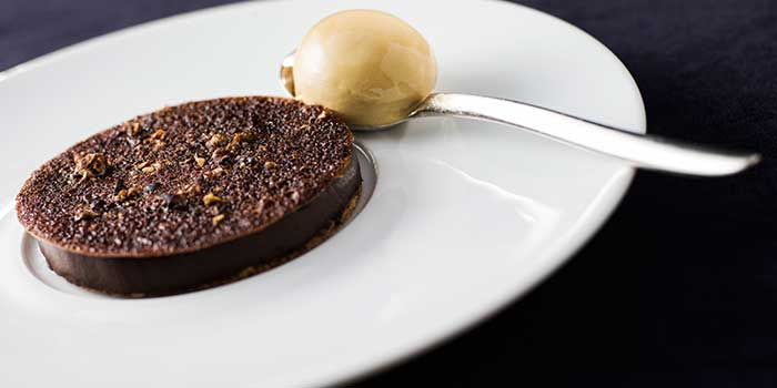 Tart Choco from Mr & Mrs Bund - Modern Eatery by Paul Pairet in Huangpu District, Shanghai