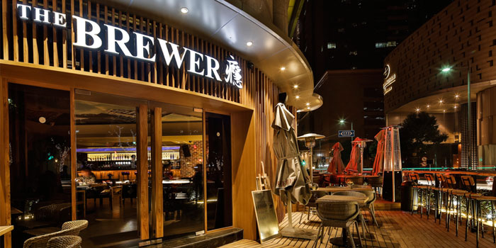 Outdoor of The Brewer located on Taicang Lu