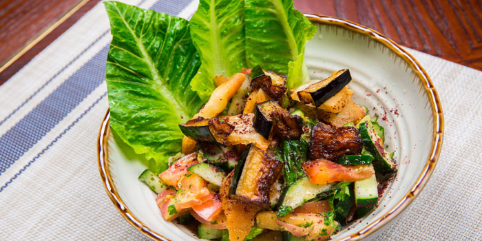 Makan Fattoush Salad of MAKAN Restaurant located on Caoxi Bei Lu, Shanghai