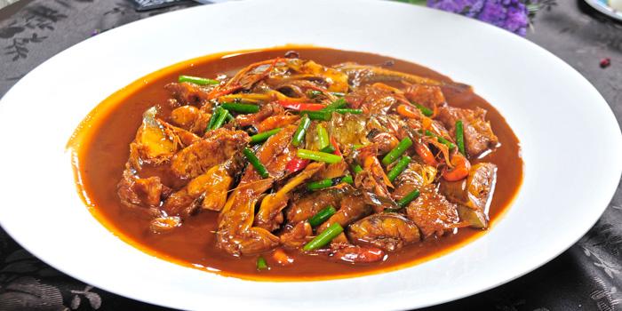 Braised chicken of MOTT539 located near Sinan Lu, Shanghai