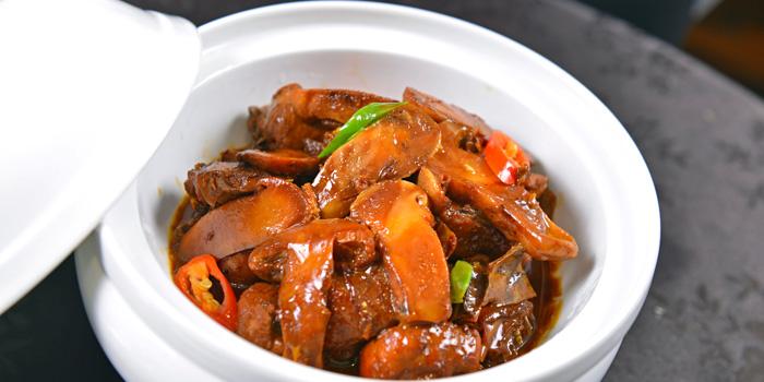 Braised fish in brown sauce of MOTT539 located near Sinan Lu, Shanghai