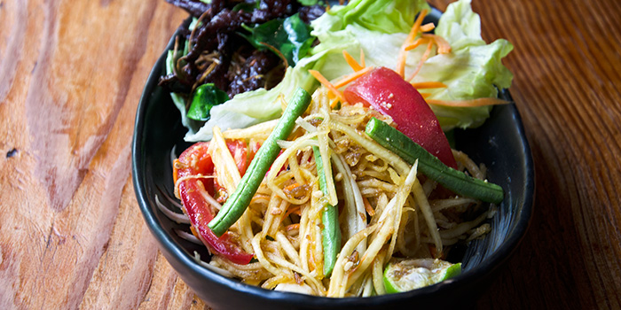Thai Papaya Salad from Mithai located in Xuhui District, Shanghai