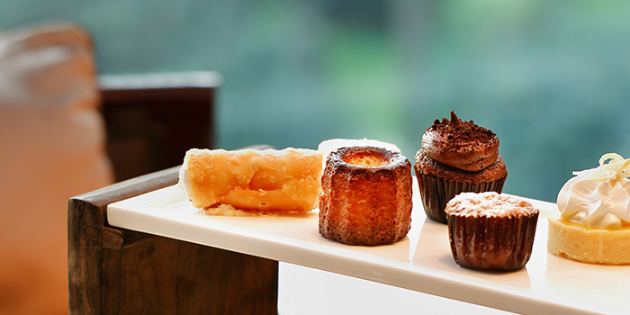 Dessert Selection from Phenix Eatery and Bar located in Jing