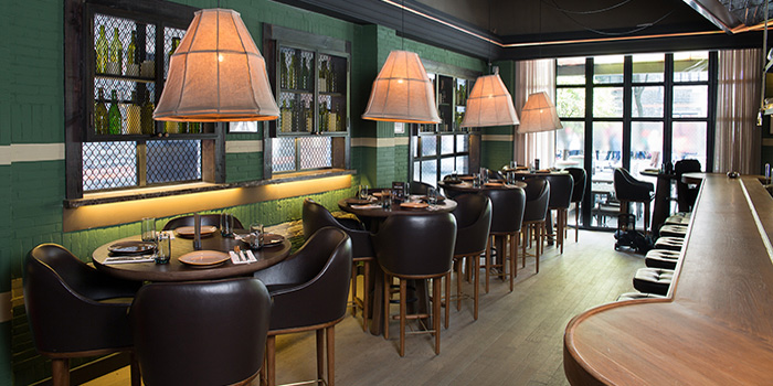 Indoor of Calix located on Taicang Lu, Luwan District, Shanghai