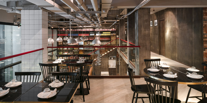 Indoor of Bar Centrale located on Nanjing Xi Lu, Jing