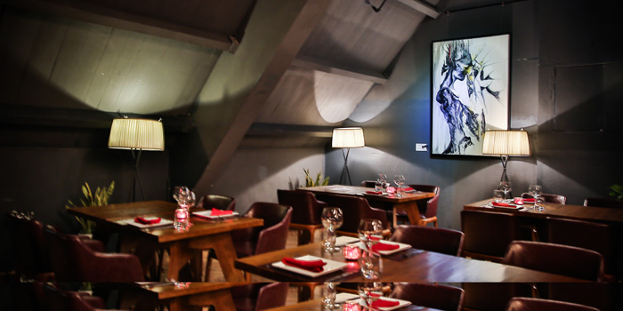 Indoor of CASANOVA located on the bund 6, Huangpu District, Shanghai, China