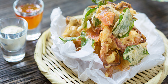 Soft Shell Crab Tempura from Ginger Modern Asian Bistro located in Xuhui, Shanghai