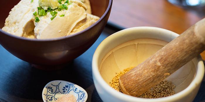 Homemade Nigari Tofu from Ginger Modern Asian Bistro located in Xuhui, Shanghai
