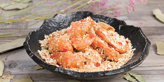 Cereal Prawns from Crystal Jade Restaurant (Disneyland) located in Pudong, Shanghai