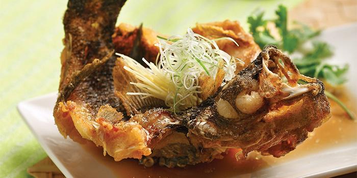 Deep Fried Fish from Crystal Jade Restaurant (Takashimaya) located in Hongqiao, Shanghai