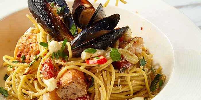 Seafood Trio from Element Fresh (Disney Town) located in Pudong, Shanghai