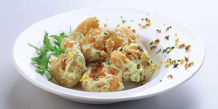 Wasabi Prawns from Crystal Jade Restaurant (Takashimaya) located in Hongqiao, Shanghai