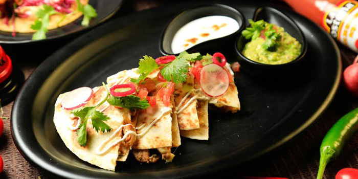 Food of El Santo by El Luchador located on Julu Lu, Luwan, Shanghai