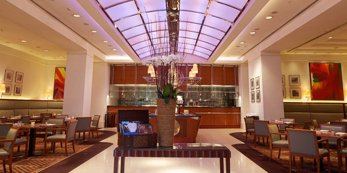 Indoor of Steak House located on Weihai Lu, Jing