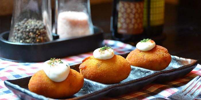 Croquetas from Albaluz located on Tianping Lu, Xuhui, Shanghai