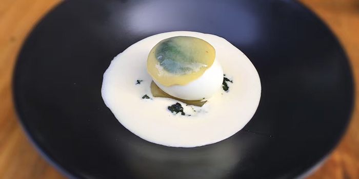 Florentine Egg from Chateau Dionne located in Xuhui, Shanghai