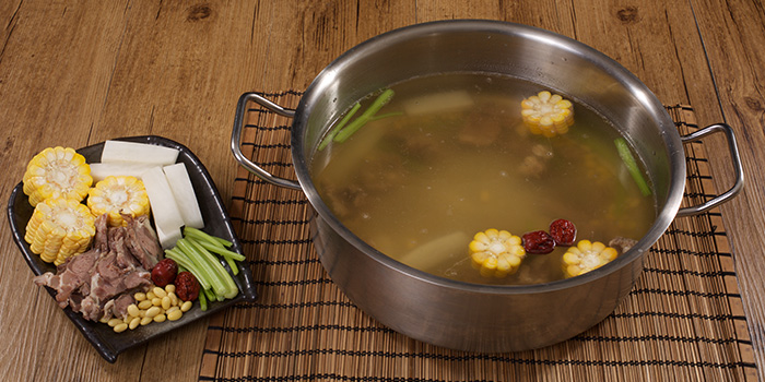 Hotpot from Holy Cow (Tianshan Lu) located in Changning, Shanghai
