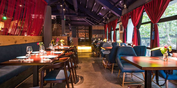 Interior of Lunette by Amanda located in Luwan, Shanghai